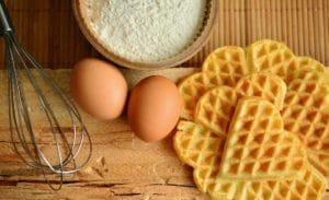 waffles egg yolk